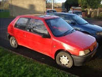 1992 Peugeot 106 Overview