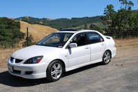 2004 Mitsubishi Lancer Ralliart, This was taken along Highway 1, exterior