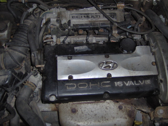 Picture of 1995 Hyundai Elantra 4 Dr GLS Sedan, engine