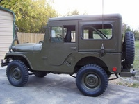 1955 Jeep CJ3B Overview