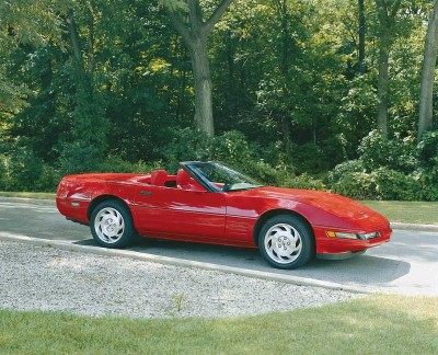 1995 Chevrolet Corvette Convertible, Picture of 1995 Chevrolet Corvette 2 Dr STD Convertible, exterior