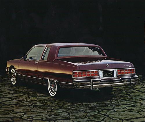 1993 Pontiac Bonneville Transmission: 1981 Pontiac Bonneville