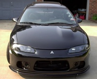 1998 Mitsubishi Eclipse GSX Turbo AWD, 1998 Mitsubishi Eclipse 2 Dr GSX Turbo AWD Hatchback picture, exterior
