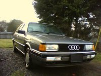 1987 Audi 4000 Overview
