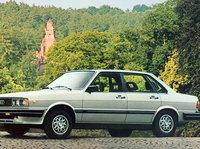 1983 Audi 4000 Overview