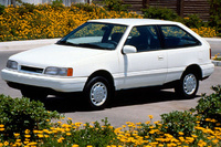 1993 Hyundai Excel Overview