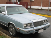 1983 Chrysler New Yorker Overview