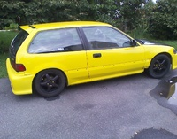 1991 Honda Civic Si Hatchback, 1991 Honda Civic 2 Dr Si Hatchback picture, exterior