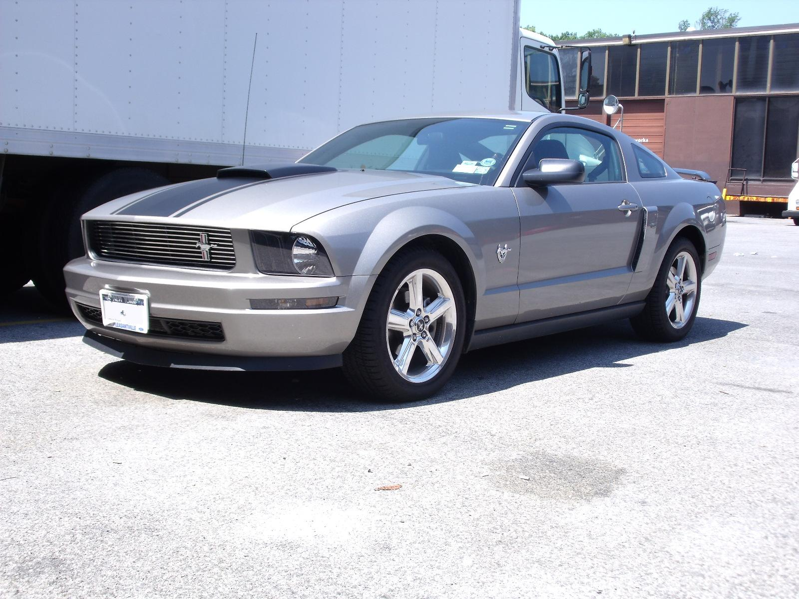 2009 Ford Mustang Blue Picture of 2009 Ford Mustang
