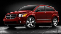 2010 Dodge Caliber, Front-quarter view, manufacturer, exterior