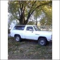 1990 Dodge Ramcharger 2 Dr 150 4WD SUV picture, exterior