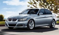 2010 BMW 3 Series, Front-quarter view of a 335i sedan, manufacturer, exterior