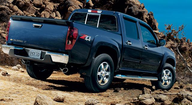 2010 Chevrolet Colorado , exterior, manufacturer