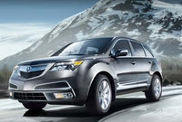 2010 Acura MDX, Front Left Quarter View, exterior, manufacturer, gallery_worthy