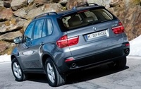 2010 BMW X5, Back Left Quarter View, manufacturer, exterior