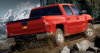 2010 Chevrolet Silverado 1500, Back Right Quarter View, exterior, manufacturer