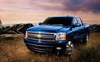 2010 Chevrolet Silverado 1500, Front Left Quarter View, exterior, manufacturer, gallery_worthy