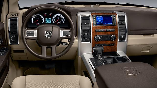 2010 Dodge Ram Pickup 1500, Interior View, interior, manufacturer