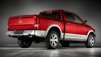2010 Dodge Ram Pickup 1500, Back Right Quarter View, exterior, manufacturer
