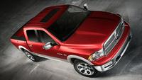 2010 Dodge Ram Pickup 1500, Overhead View, exterior, manufacturer