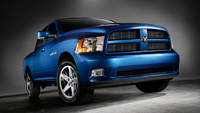 2010 Dodge Ram Pickup 1500, Front Right Quarter View, exterior, manufacturer