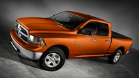 2010 Dodge Ram Pickup 1500, Front Left Quarter View, manufacturer, interior