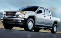 2010 GMC Canyon, Front Left Quarter View, manufacturer, exterior