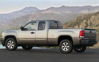 2010 GMC Sierra 1500, Left Side View, manufacturer, exterior