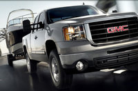 2010 GMC Sierra 2500HD, Front Right Quarter View, exterior, manufacturer