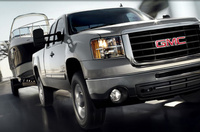 2010 GMC Sierra 2500HD, Front Right Quarter View, manufacturer, exterior