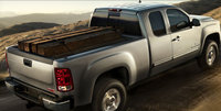 2010 GMC Sierra 2500HD, Back Right Quarter View, exterior, manufacturer