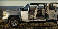 2010 GMC Sierra 2500HD, Left Side View, exterior, interior, manufacturer