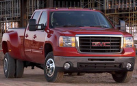 2010 GMC Sierra 3500HD, Front Right Quarter View, exterior, manufacturer