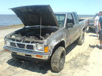 Picture of 1990 Nissan Truck, exterior, engine