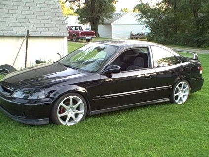 2000 Honda Civic Si Coupe picture, exterior