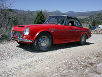 1969 Datsun 1600 Overview
