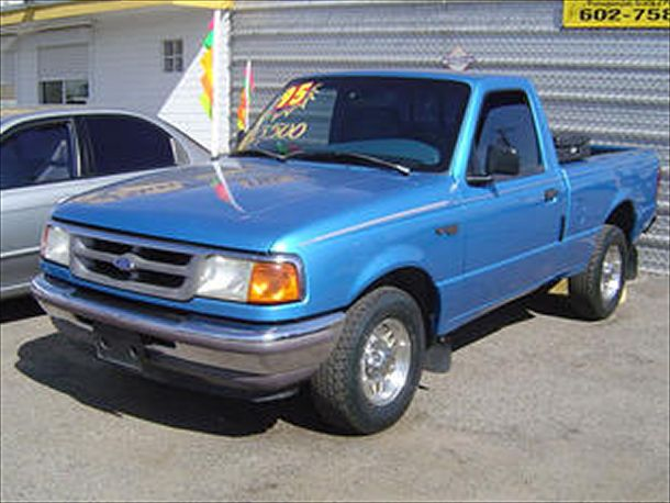 picture of 1995 ford ranger xl standard cab lb exterior. Black Bedroom Furniture Sets. Home Design Ideas