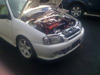 Picture of 1996 Toyota Starlet, engine