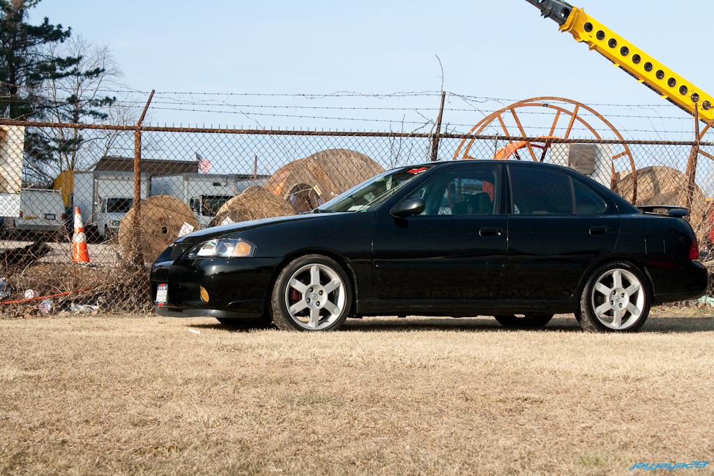 sentra spec v. 2003 Nissan Sentra SE-R Spec V