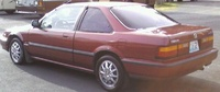 1989 Honda Accord LX Coupe, 1989 Honda Accord Coupe LX picture, exterior