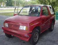 1991 Suzuki Sidekick 2 Dr JX 4WD Convertible, 1991 Suzuki-SideKick JX, exterior, gallery_worthy