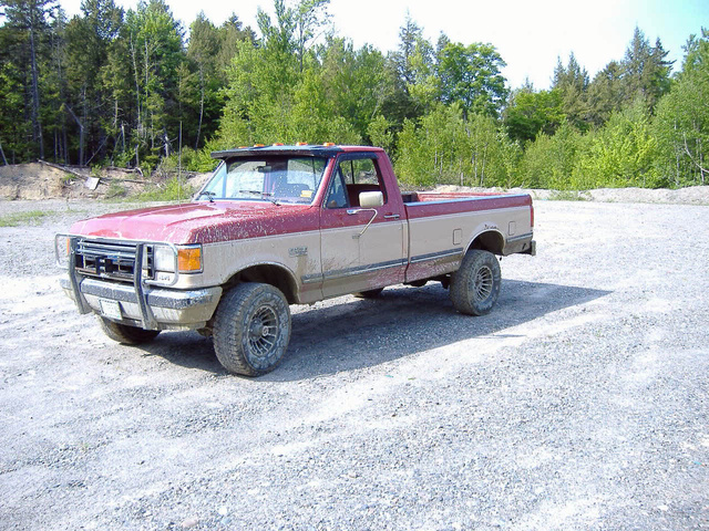 Picture of 1990 Ford F-150 STD 4WD LB, exterior, gallery_worthy