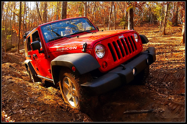 2010 Jeep Wrangler Unlimited Rubicon 4WD, 1st off-road trip, exterior, gallery_worthy