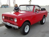 1972 International Harvester Scout Overview