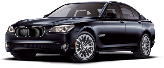 2010 BMW 7 Series, Front-quarter view of a 750i, exterior, gallery_worthy