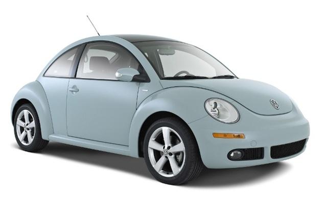 2010 Volkswagen Beetle, Front-quarter view, exterior, manufacturer