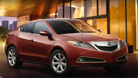 2010 Acura ZDX, Front Right Quarter View, exterior, manufacturer