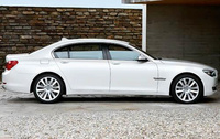 2010 BMW 7 Series, Right Side View, manufacturer, exterior