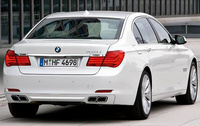 2010 BMW 7 Series, Back Right Quarter View, exterior, manufacturer