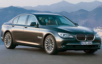 2010 BMW 7 Series, Front Right Quarter View, manufacturer, exterior